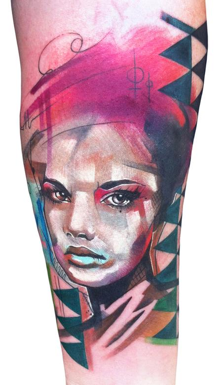 Ivana Tattoo Art - Portrait of a Woman